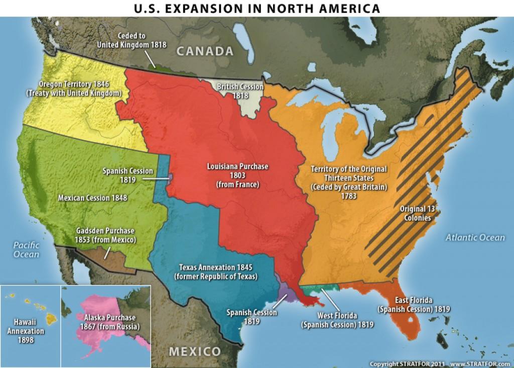 Как расширялись США