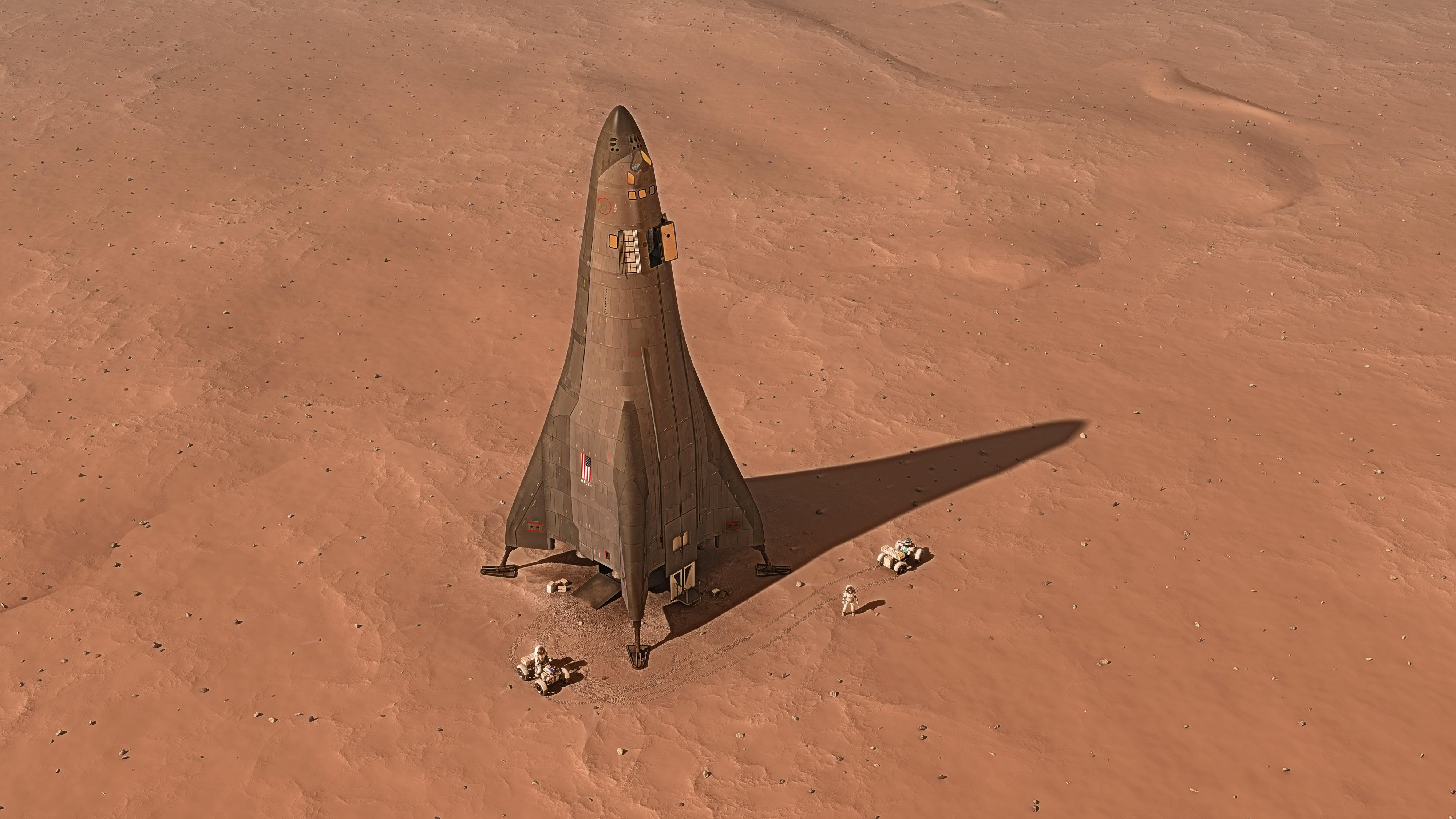 Lockheed Martin презентовала план покорения Марса
