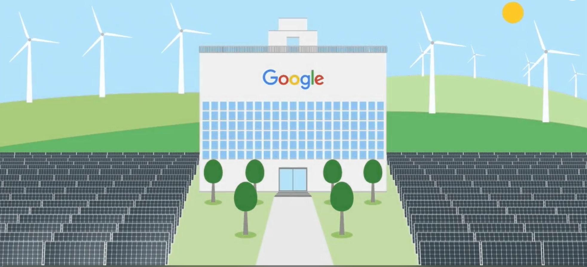 Google полностью перешёл на возобновляемую энергию