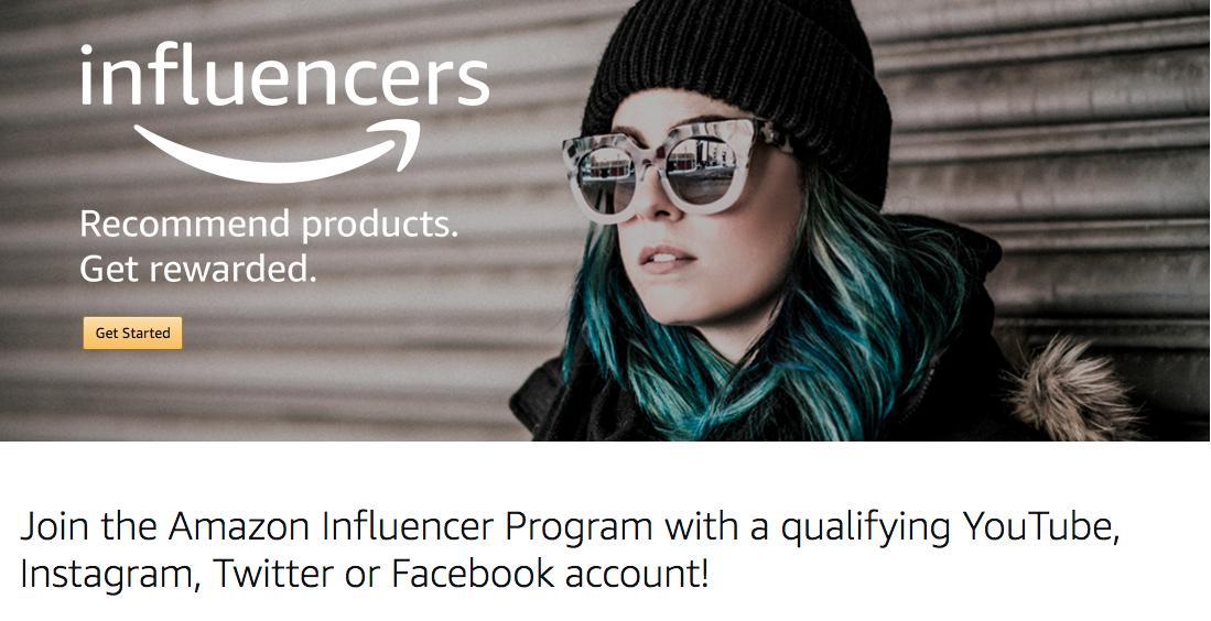 Amazon запускает новый сервис, создавая дополнительную возможность для заработка тем, у кого много подписчиков в социальных сетях