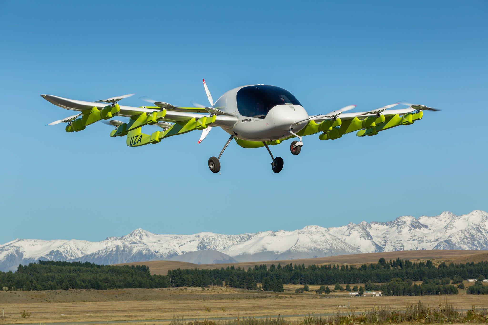 Первое беспилотное воздушное такси Kitty Hawk