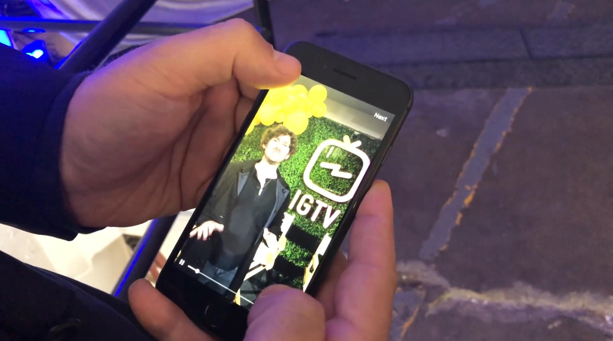 IGTV видео