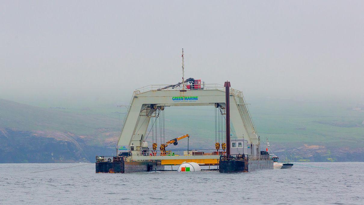 Microsoft разместила подводный дата-центр на дне Шотландского моря