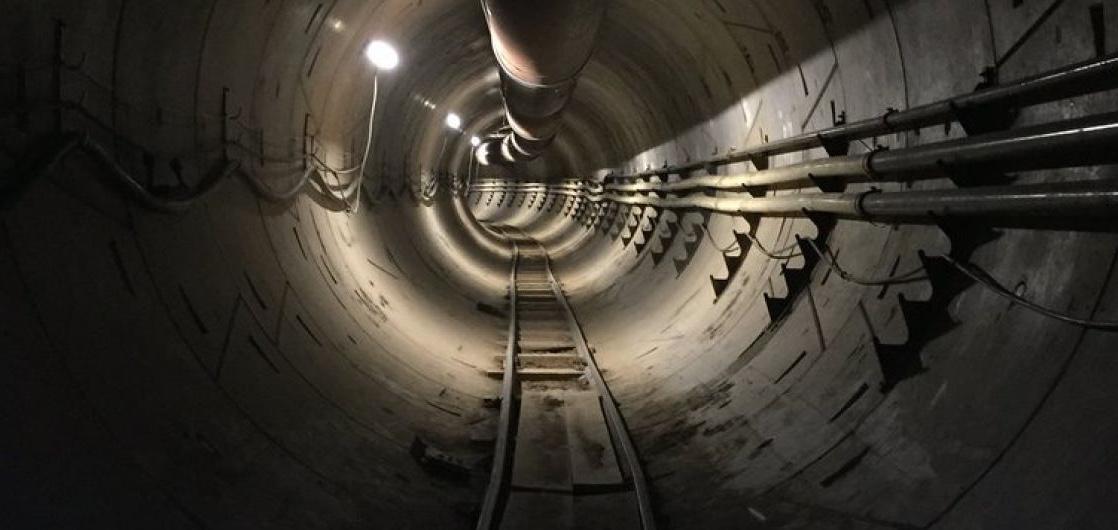 скоростной туннель под Лос-Анжелесом