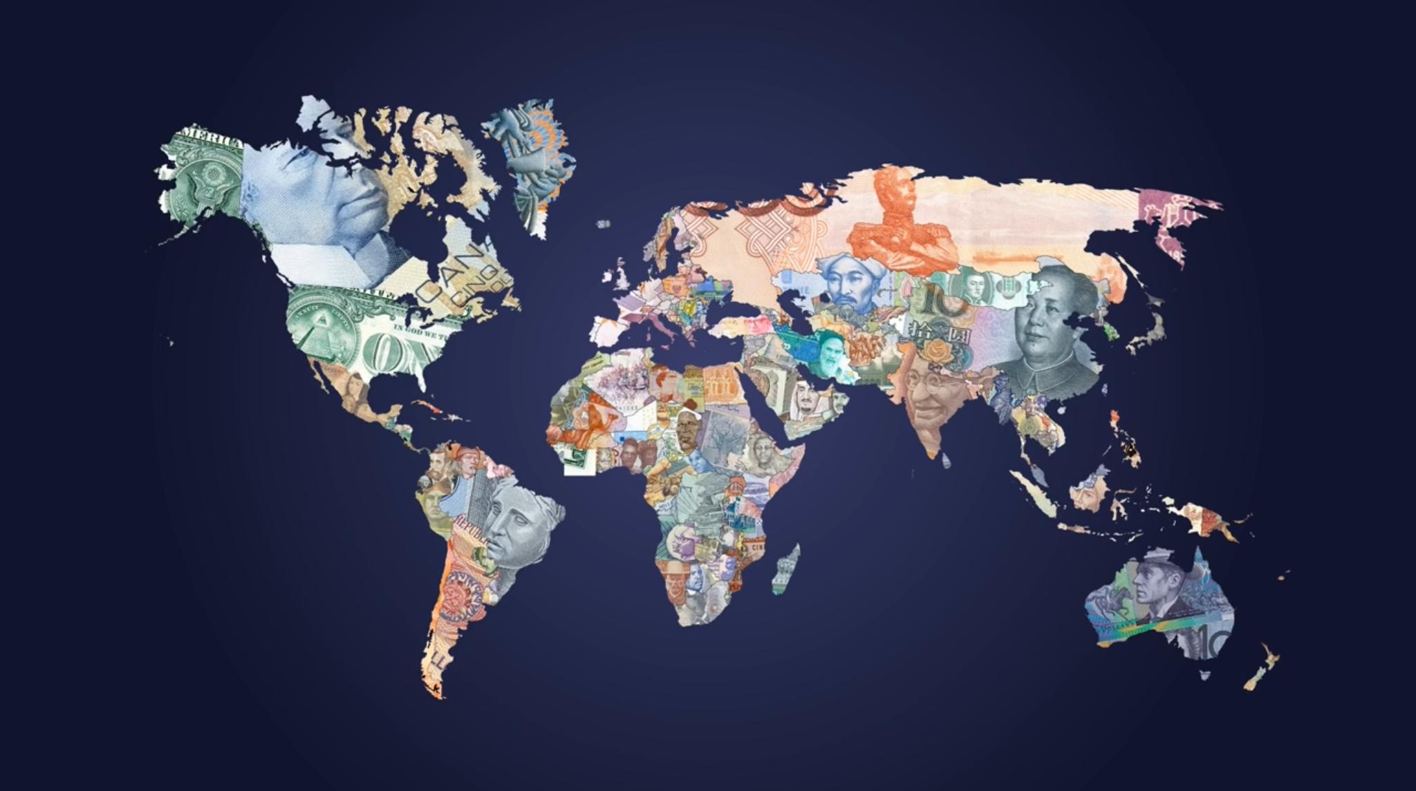 сколько в мире денег