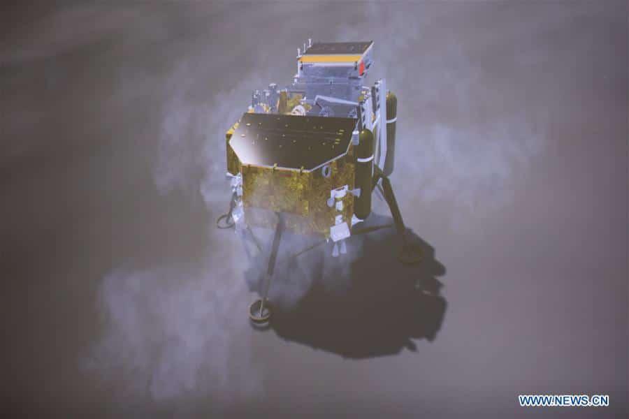 Китай совершил успешную посадку лунного зонда на обратной стороне Луны