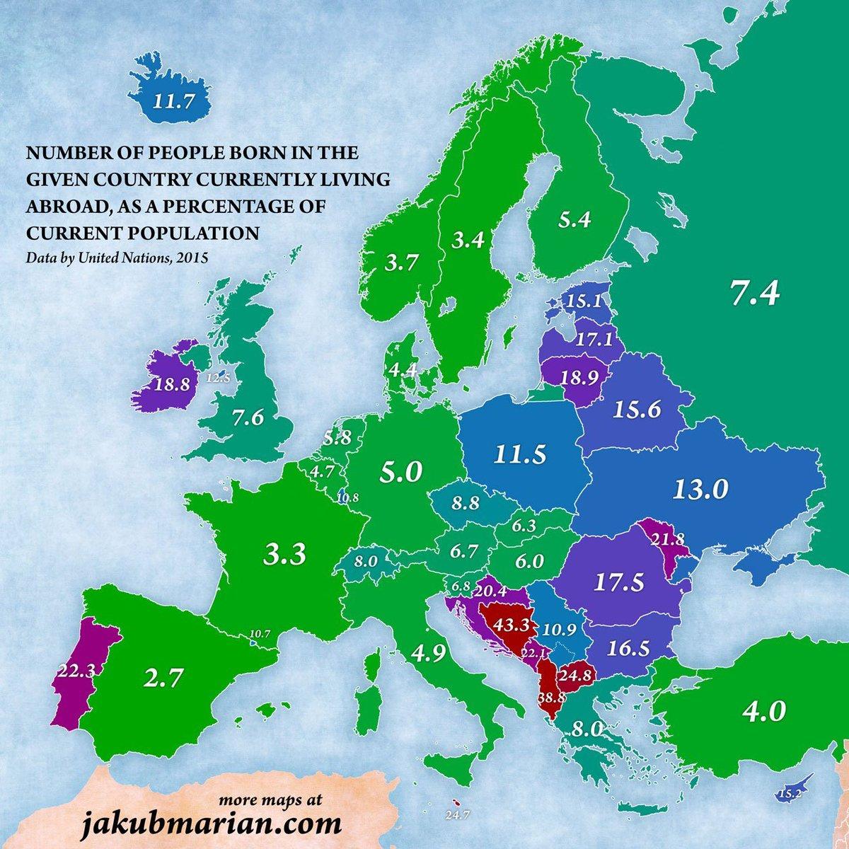 живут заграницей - Европа