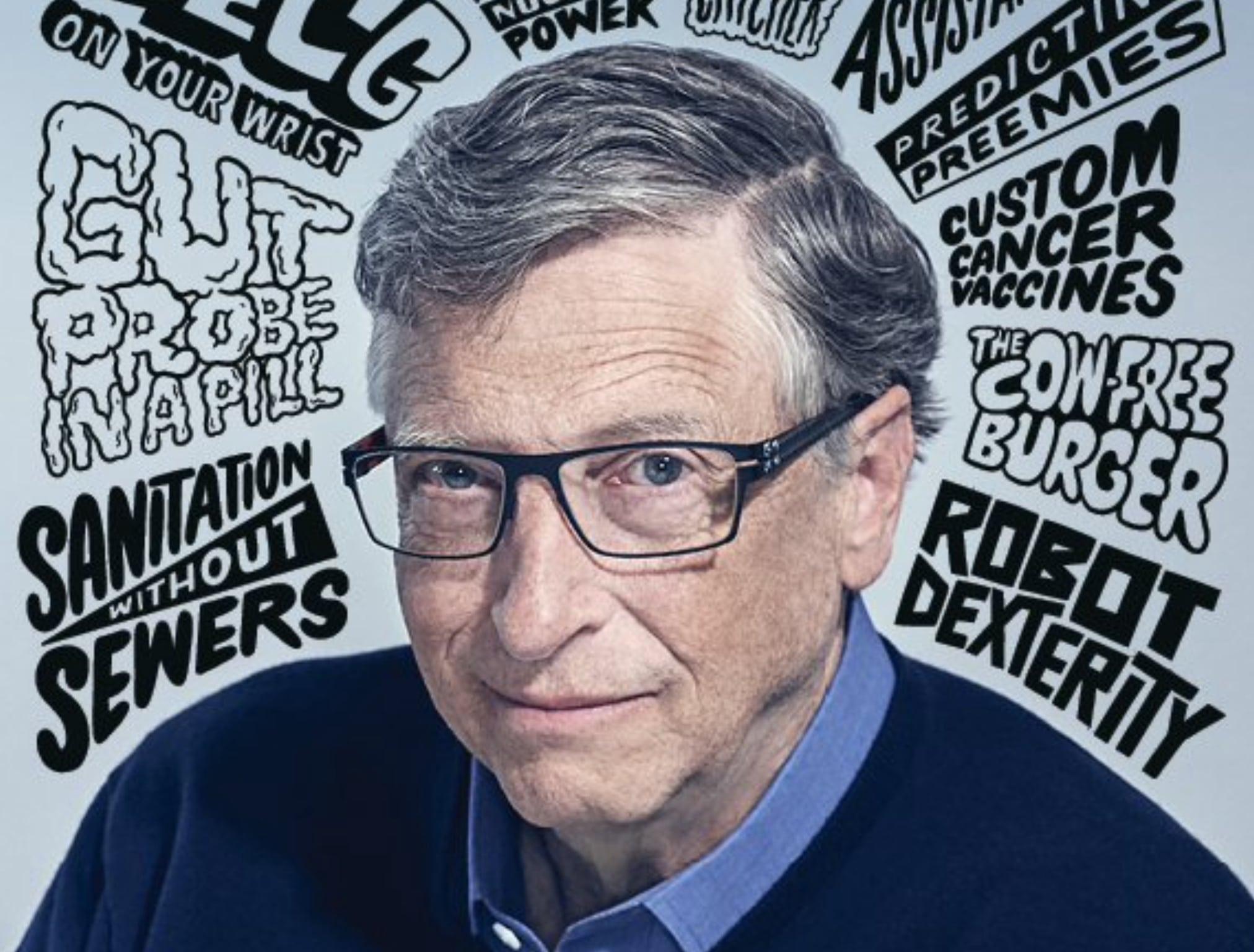 Билл Гейтс назвал 10 прорывных технологий будущего — MIT Technology Review