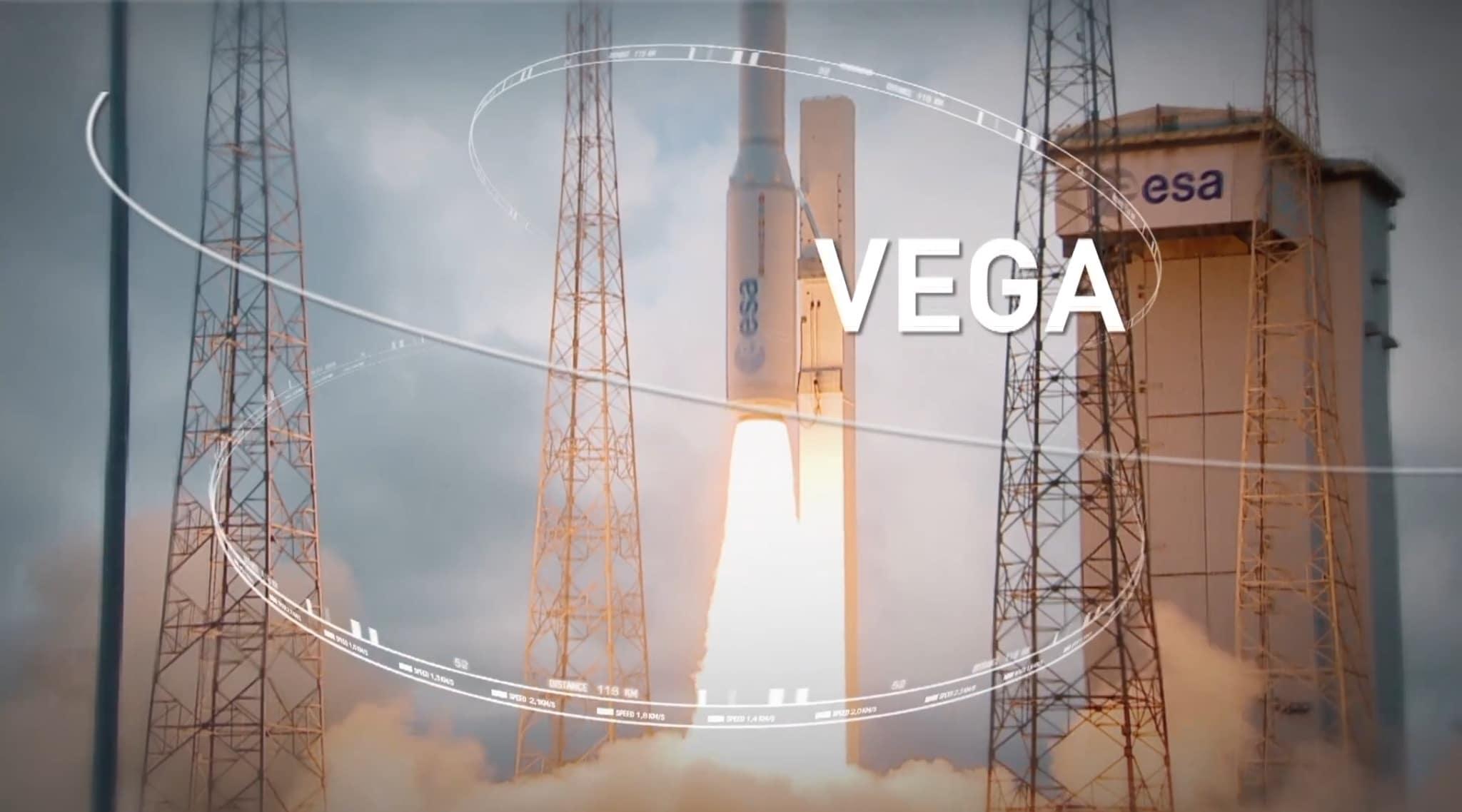Ракета с украинским двигателем - Vega