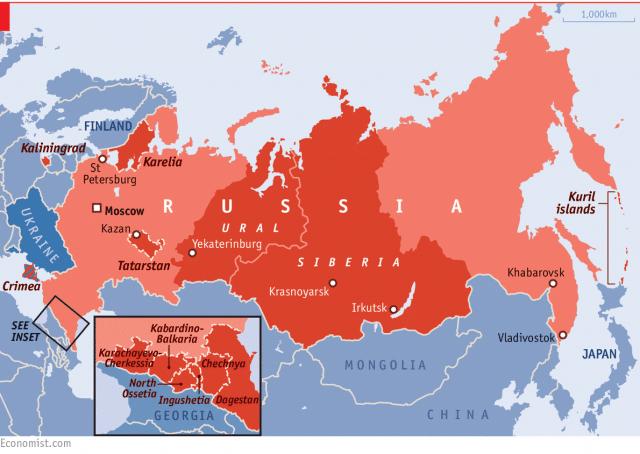 Распад империй: о неизбежности фрагментации СССР