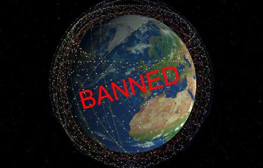 В России будут штрафовать за космический интернет Илона Маска
