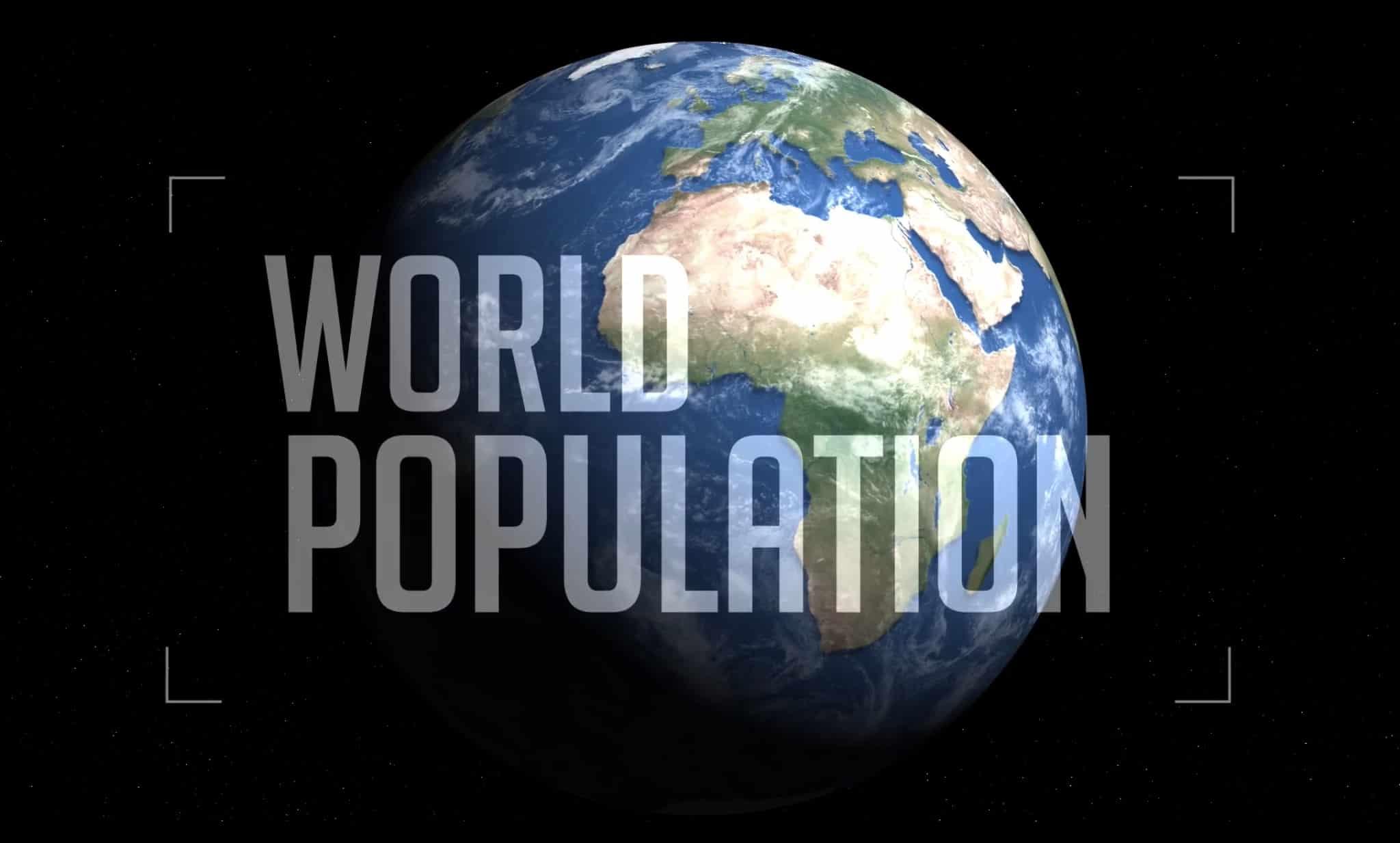 Как росло население планеты за последние 2000 лет