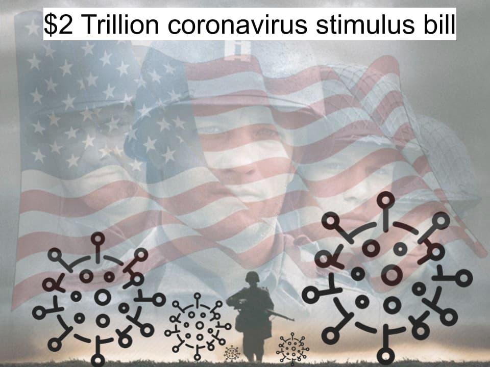 $2 трлн выделяют США на меры по борьбе с коронавирусом