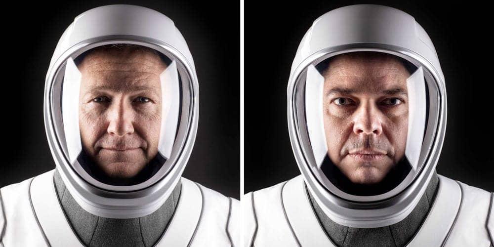 пилотируемый полет SpaceX - первый экипаж
