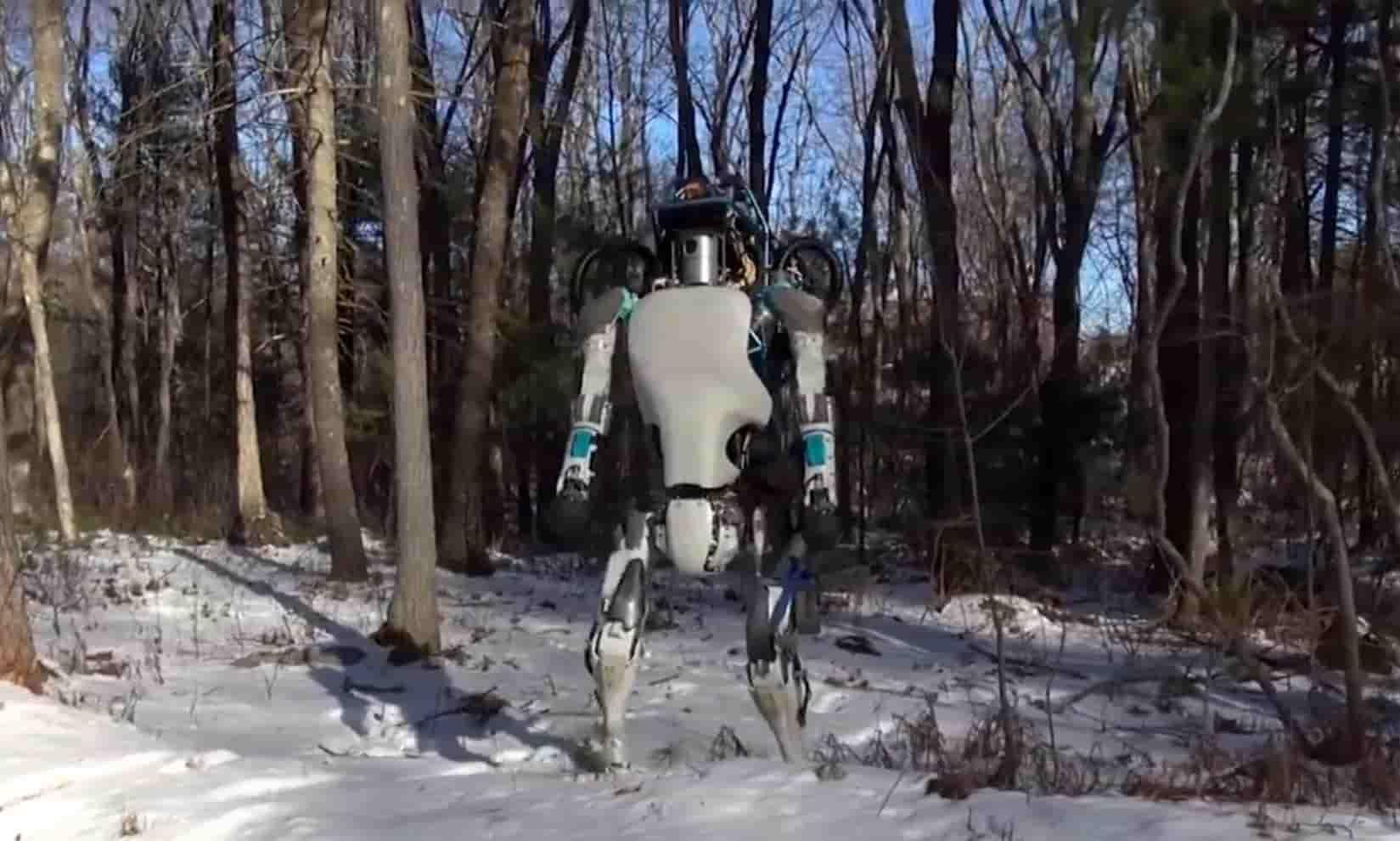 Atlas — представитель нового поколения роботов от Boston Dynamics