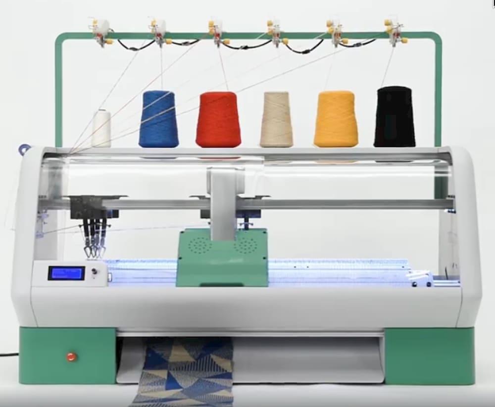 3-D принтер для вязания